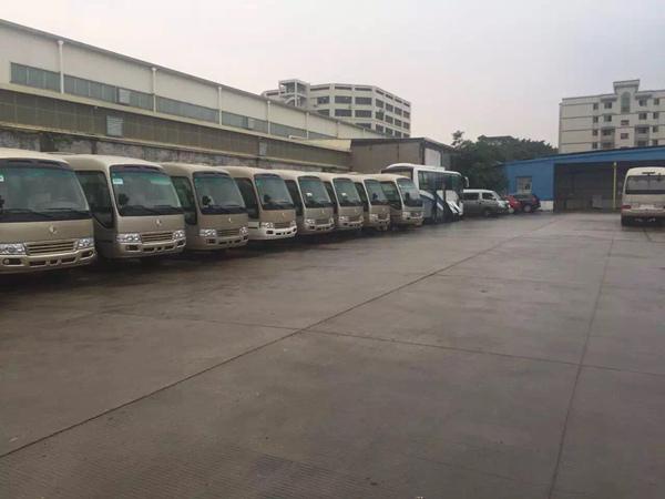 北京展会租中巴车