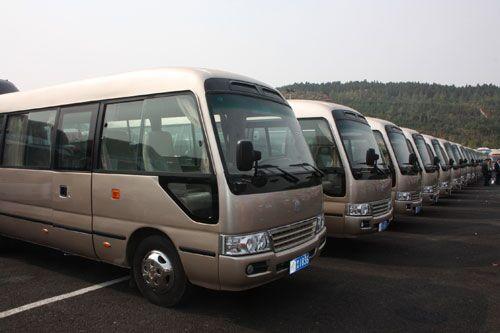北京旅游大中巴车租赁车站接送优质服务服务意识提升信誉