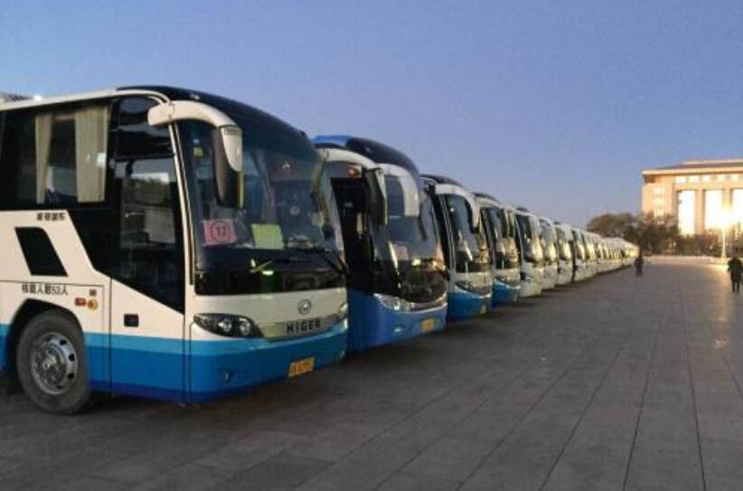 北京旅游包车找福泽旭日北京大中巴租车公司
